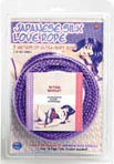 Japanese Silk Love Rope 3m - Purple