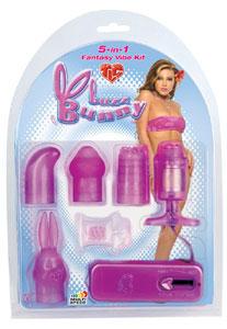 Buzz Bunny 5-in-1 Fantasy Vibe Kit