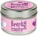 Foreplay Pheromone Candle 4 oz - Stawberries