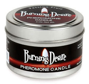 Burning Desire Pheromone Candle 4 oz -  Passion Fruit