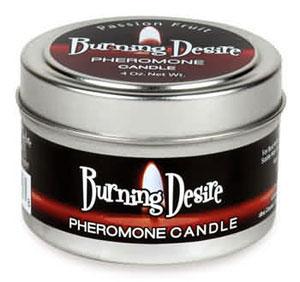 Burning Desire Pheromone Candle 4 oz -  Passion Fruit