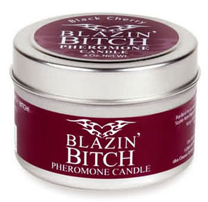 Blazin Bitch Pheromone Candle 4 oz - Black Cherry