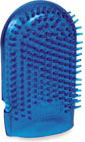 Pleasure Mitt Massage Companion - Blue