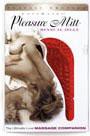 Pleasure Mitt Massage Companion - Cranberry