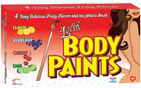 Lovin' Body Paints - 4 Fruity Flavors