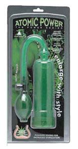 Atomic Power Pump W/Grip- Green