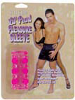 Silicone Lil' Pearl Pleasure Sleeve - Pink