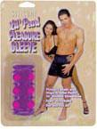 Silicone Lil' Pearl Pleasure Sleeve - Purple
