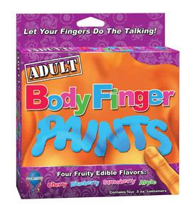 ADULT Edible Body Finger Paints