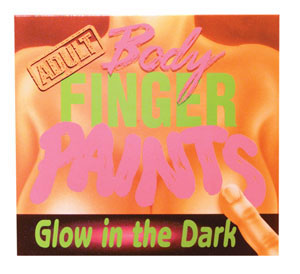 ADULT Glow-In-The-Dark Body Finger Paints