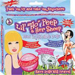 Lil Ho Peep & Her Sheep Mini Inflatable Dolls