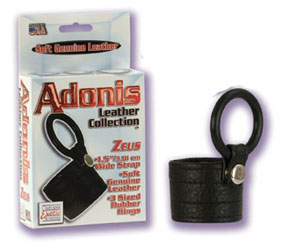 Adonis Leather Collection Zeus