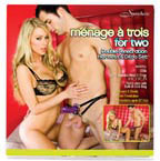 Menage A Trois For Two Harness Set