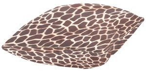 Small Giraffe Hide Your Vibe Pillow