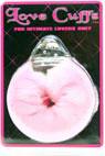 Plush Love Cuffs - Pink