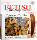Fetish Fantasy Furry Love Cuffs - Cheetah