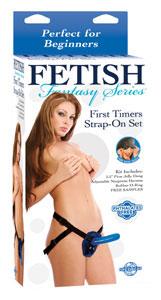 Fetish Fantasy First Timer Strap-On Set - Blue