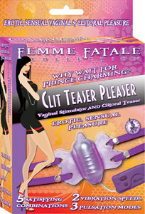 Femme Fatale Clit Teaser Pleaser - Amethyst