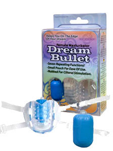 Dream Bullet Female Masturbator - Blue
