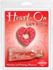 Heart-On Luv Ring - Red