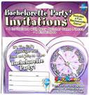 Bachelorette Party Invitations 8pc