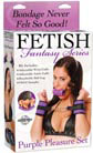 Fetish Fantasy Purple Pleasure Set