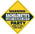 Bachelorette's Final Fling Door & Decoration Sign