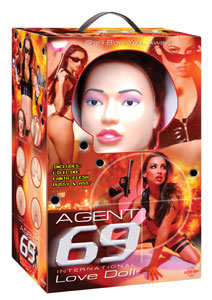 Agent 69 International Love Doll