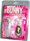 Bunny Stimulatro Egg - Clear