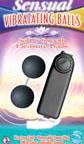 Sensual Vibrating Balls - Black