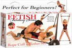 Fetish Fantasy Rope Cuff & Tether Set