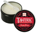 Tantric Soy Massage Oil Candle Passion Fruit