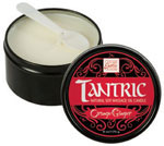 Tantric Soy Massage Oil Candle Orange Ginger