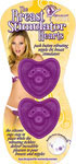 The Breast Stimulator Hearts - Purple