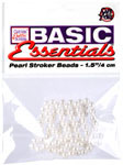 Basic Essentials Pearl Stroker Beads 1.5
