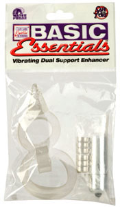 Basic Essentials Vibrating Dual Support Enhancer