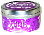 Wish Vanilla Sugar 4 oz Soy Massage Candle