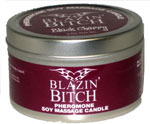 Blazin' Bitch Black Cherry 4 oz Soy Massage