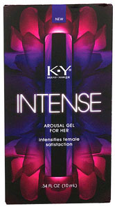 KY Intense Arousal Gel for Her .34oz