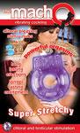 Macho Vibrating Cockring - Purple