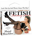 Fetish Fantasy Metal Shackles