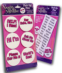 Naughty Night Out Pick Up Pins