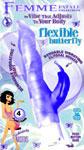 Femme Fatale Flexible Butterfly Vibe - Purple