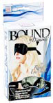 Bound by Diamonds - Ribbon Eye Mask