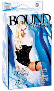 Bound by Diamonds - 2 Pc Diamond Thigh Harness