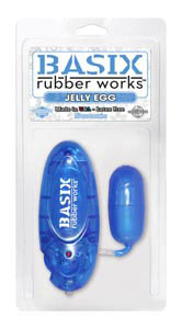 Basix Rubber Works Jelly Egg - Blue