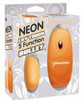 Neon Luv Touch 5 Function Bullet - Orange