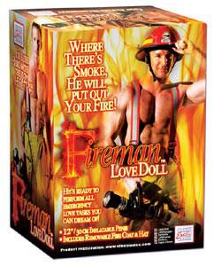 Fireman Love Doll