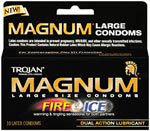 Trojan Magnum Fire and Ice 10's