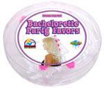 Bachelorette Party Pecker Clip Veil